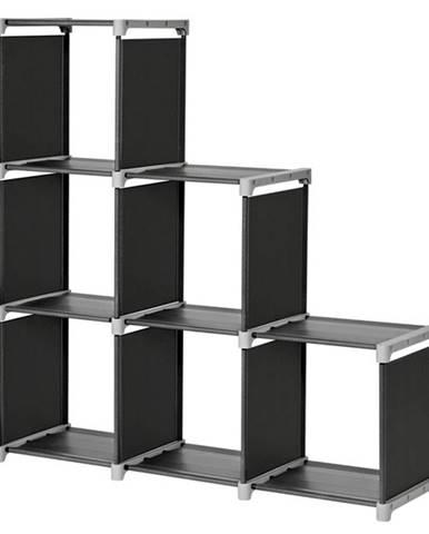 Regál LSN63H čierna