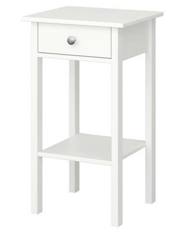 Nočný stolík TYLER biela
