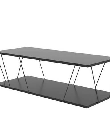 Konferenčný stolík LABRANDA antracit/čierna