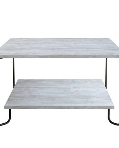 Konferenčný stolík MARBO biela