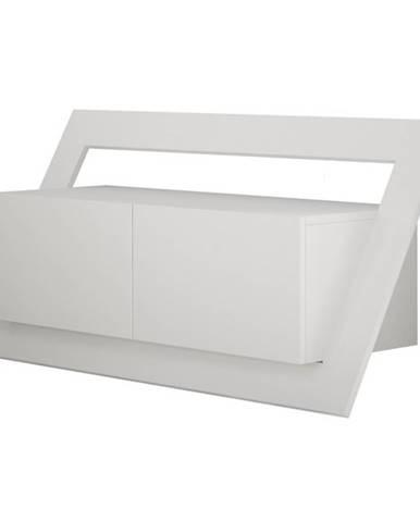 TV stolík CARNABY biela