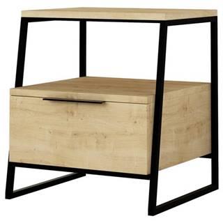 Nočný stolík PAL dub