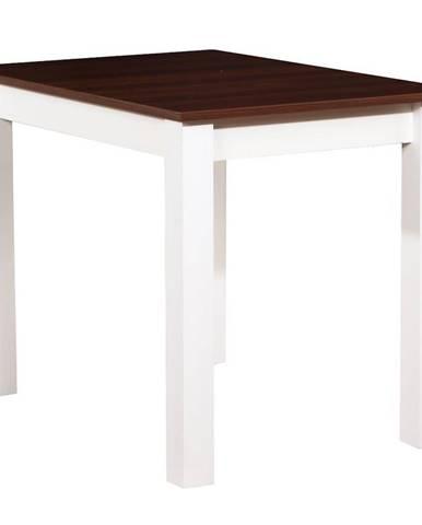 Stôl ST29 100X70 orech/biely
