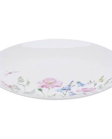 Porcelánový plytký tanier Bloom, 27 cm