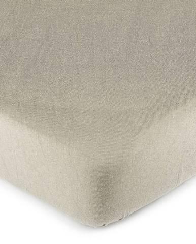 4Home jersey prestieradlo sivá, 180 x 200 cm