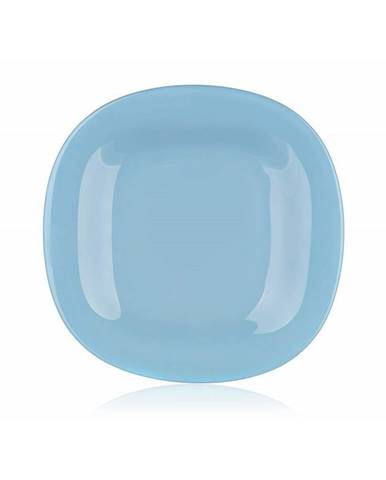 Luminarc Hranatý dezertný tanier CARINE 19 cm, 6 ks, modrá