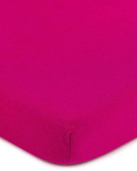 4Home 4Home jersey prestieradlo ružová, 180 x 200 cm