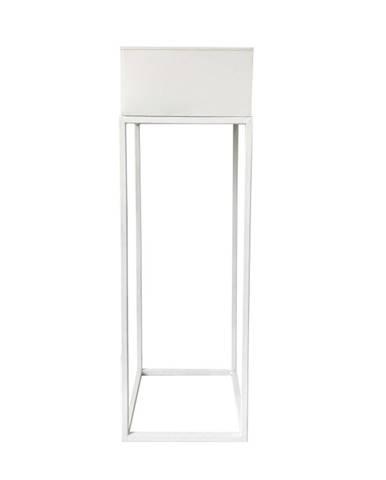 Multifunkčný kovový kvetináč biela INDIZE TYP 1 WL4211