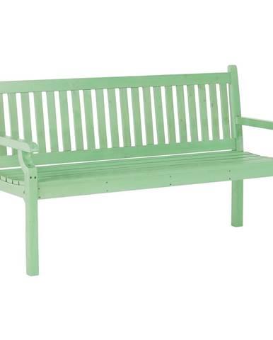 Drevená záhradná lavička neo mint 150 cm KOLNA