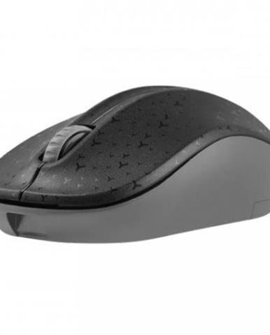 Bezdrôtová myš Natec TOUCAN, 1600 DPI, čierno-šedá