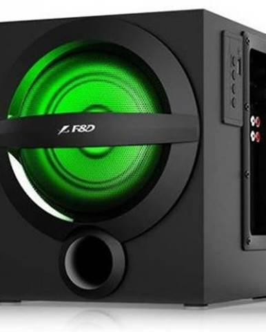 Reproduktory Fenda F&D A140X, 2.1, 37 W, Bluetooth, čierne