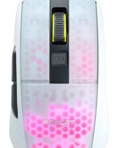 Roccat Herná myš Roccat Burst Pro, 68 g, 16000 dpi, biela