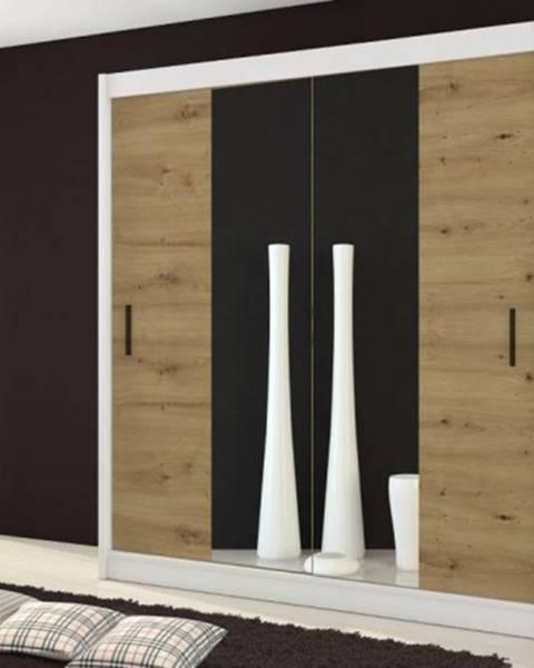 OKAY nábytok Šatníková skriňa Ragla - 180x215x61 cm