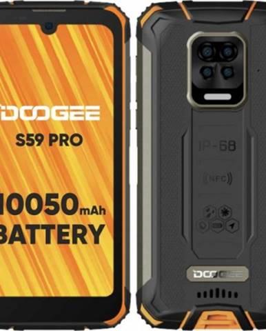 Odolný mobilný telefón Doogee S59 PRO 4GB/128GB, oranžová