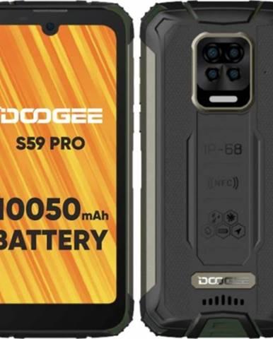 Odolný mobilný telefón Doogee S59 PRO 4GB/128GB, zelená