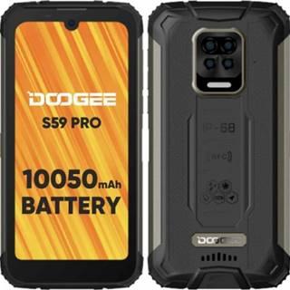 Odolný telefón Doogee S59 PRO 4 GB/128 GB, čierny