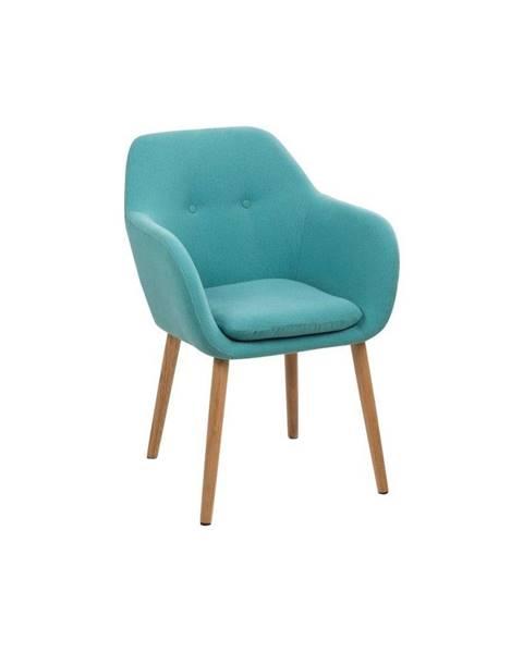 Actona Modrá jedálenská stolička Actona Emilia