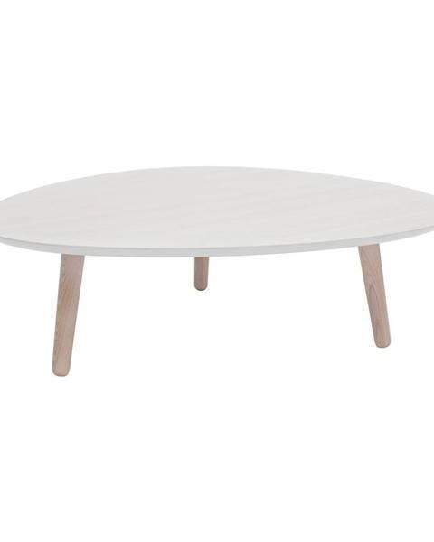 Ragaba Biely konferenčný stolík z jaseňového dreva Ragaba Contrast Pick