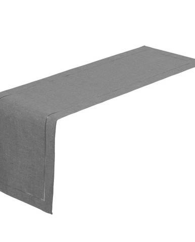 Sivý behúň na stôl Unimasa, 150 x 41 cm
