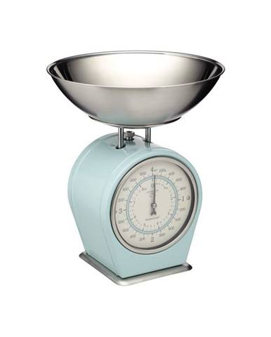 Modrá kuchynská váha Kitchen Craft Living Nostalgia, nosnosť 4 kg