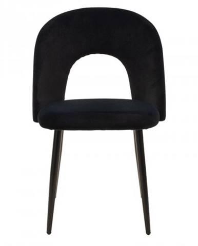 Jedálenská stolička Janet čierna