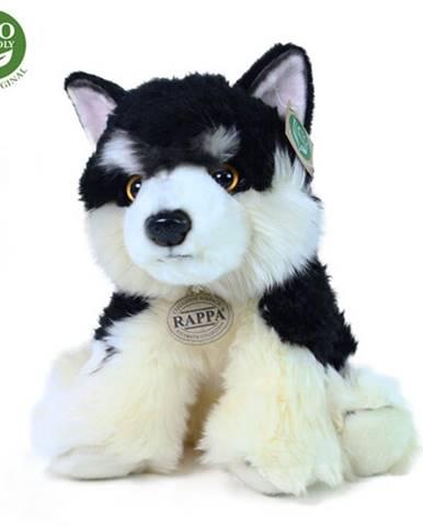 Rappa Plyšový sediaci pes Malamut, 28 cm
