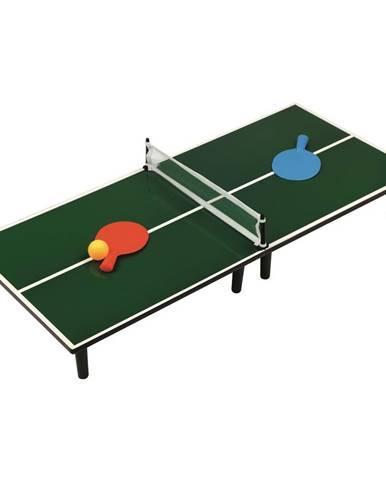 Bino Stolný tenis zelená,  90 x 40 x 11 cm