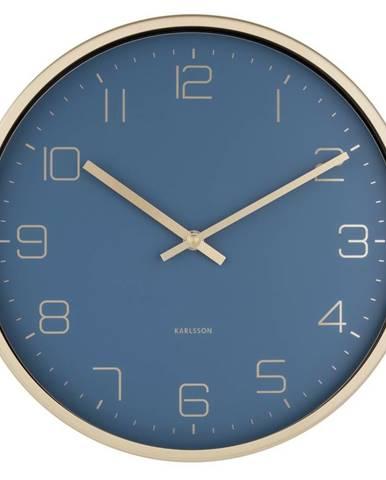 Karlsson 5720BL dizajnové nástenné hodiny, pr. 30 cm