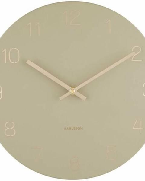 Karlsson Karlsson 5788OG dizajnové nástenné hodiny, pr. 30 cm