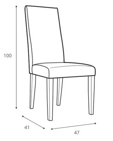 Szynaka Jedálenská stolička Kama 101 (2ks v balení)