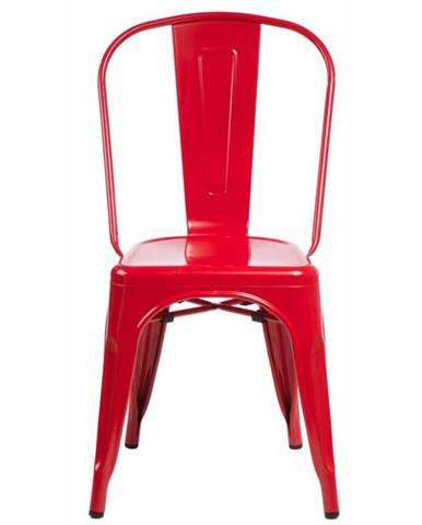 ArtD Jedálenská stolička Paris inšpirovaná Tolix