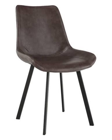 Jedálenská stolička hnedá NIRO