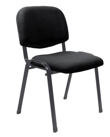 Kancelárska stolička čierna ISO 2 NEW