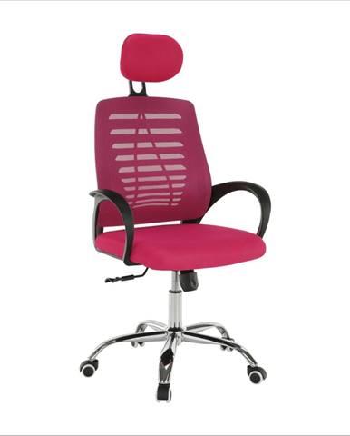 Kancelárske kreslo ružová ELMAS