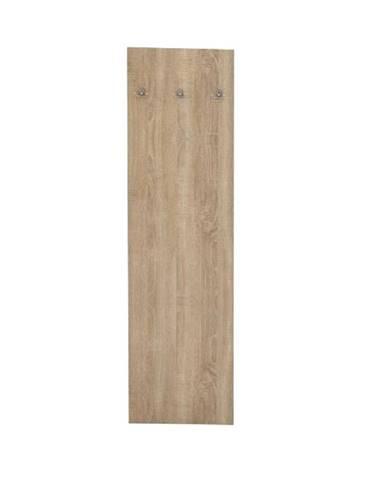 Vešiakový panel dub sonoma TEMPO ASISTENT NEW 030 rozbalený tovar