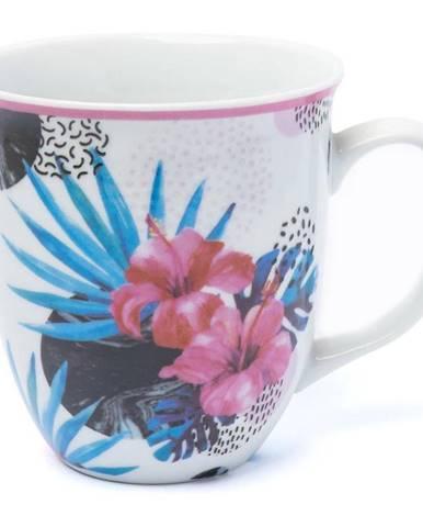 Hrnček tropik 450ml kvety