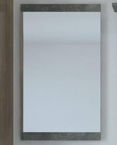 Nástenné zrkadlo Askon 52, tmavý betón%
