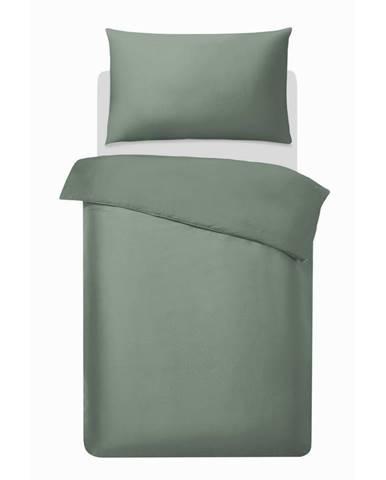 Posteľná Bielizeň Alex Uni, 140/200cm, Zelená