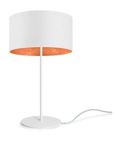 Bielo-bronzová stolová lampa Sotto Luce MIKA M 1T