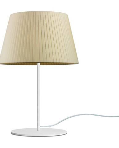 Béžová stolová lampa Sotto Luce Kami, ⌀ 26 cm