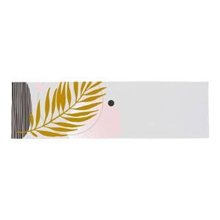 Bavlnený behúň na stôl Butter Kings Terracotta Leaf