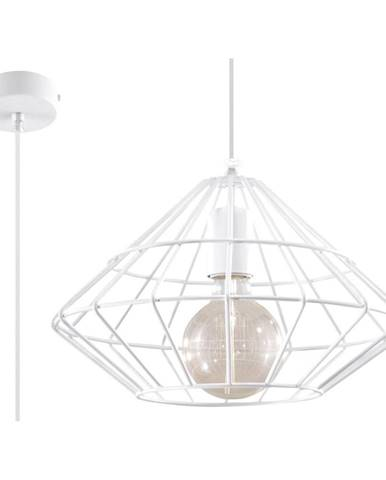 Biele závesné svietidlo Nice Lamps Editta