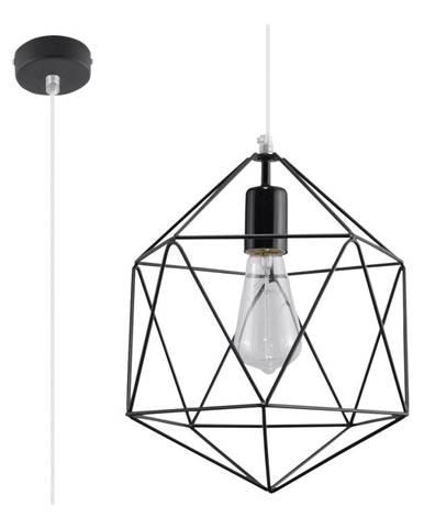 Čierne stropné svietidlo Nice Lamps Donato