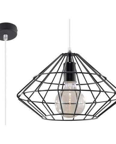 Čierne stropné svietidlo Nice Lamps Editta