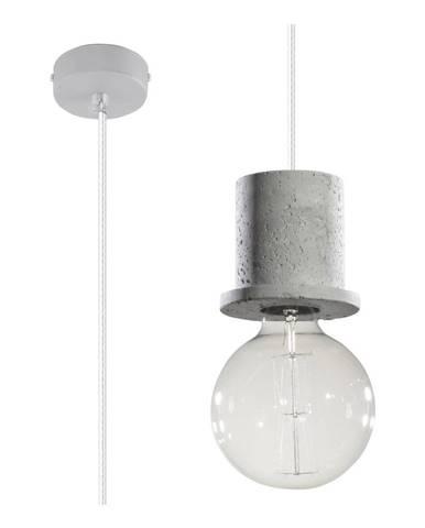Sivé stropné svietidlo Nice Lamps Bresso