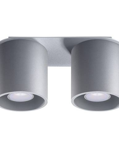 Sivé stropné svietidlo Nice Lamps Roda