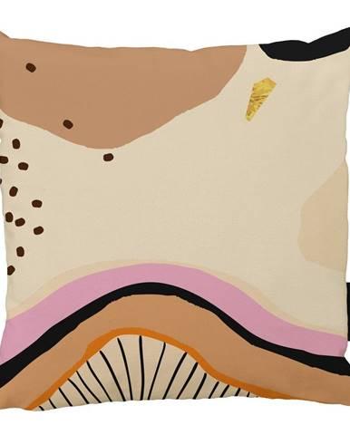 Bavlnený dekoratívny vankúš Butter Kings Landscape, 50 x 50 cm