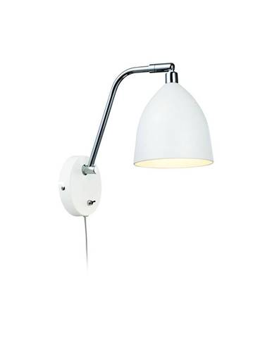 Biele nástenné svietidlo Markslöjd Fredrikshamn