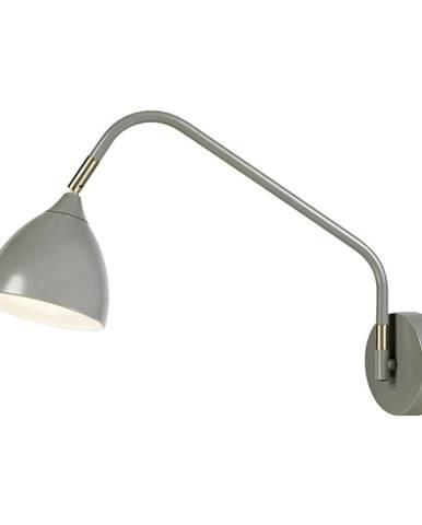 Sivá nástenná lampa Markslöjd Valencia