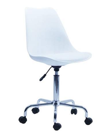 Biela kancelárska stolička HoNordic Stavanger